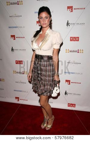 Tiffany Lynn Rowe  at a Private Premiere Party for TLC's 'Who Are You Wearing'. Stork, Hollywood, CA. 08-22-08