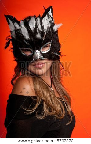 photo of girls with mask № 22504