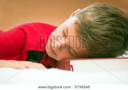 Fell Asleep After Studying...