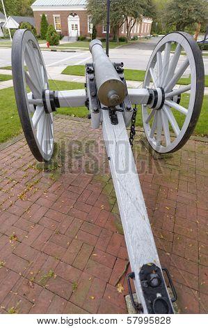 civil war cannon replica Chagrin Falls, Ohio poster