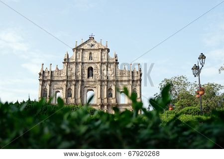 Ruins Of St. Paul's Cathedral, Macau