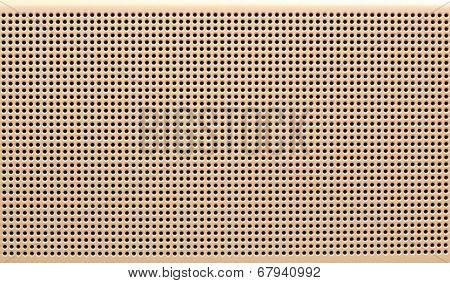 Metal dot texture
