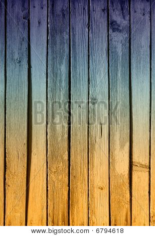 Rough Painted Planks