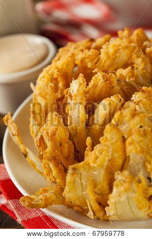 Homemade Fried Bloomin Onion