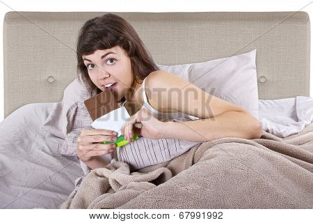 Junk Food In Bed