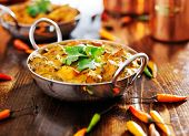 indian food - saag paneer curry dish poster