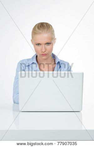 Professional Business Woman Closeup
