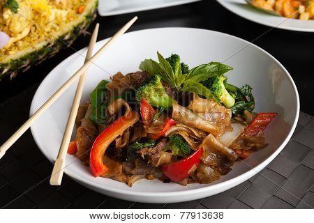 Drunken Noodle Dish
