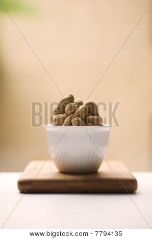 Peanuts In Natural Light