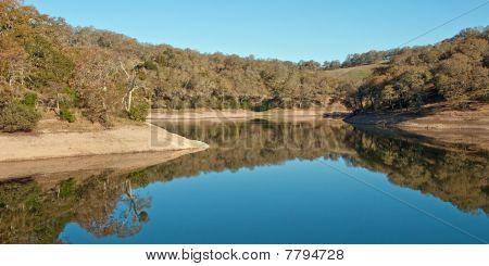 Reflection on Morning Lake