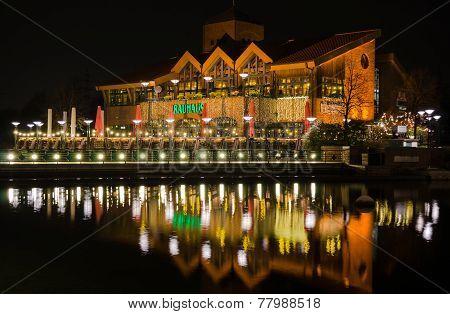 Oberhausen Germany - December 5, 2014 Brauhaus