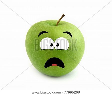 Screaming apple
