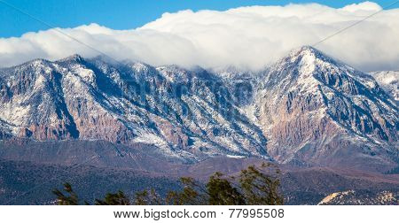 First Snow On The Mountains