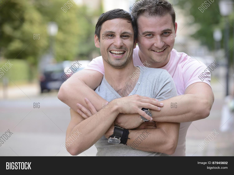 Big gay hug