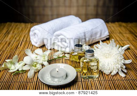 Massage and spa concept