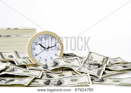 Photo of money and time