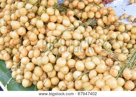 Baccaurea Ramiflora Lour Or Burmese Grape