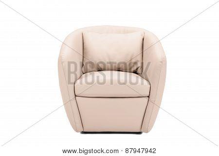 Modern Leather Armchair