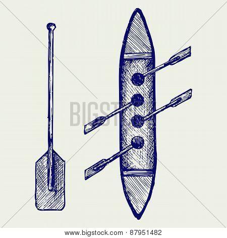 Rowers illustration