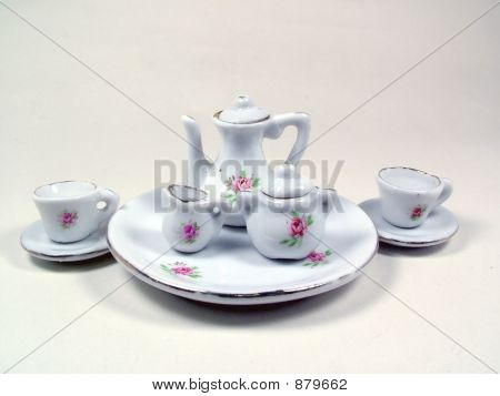 A Miniature Tea Set