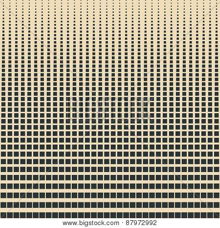 Square blend geometrical pattern