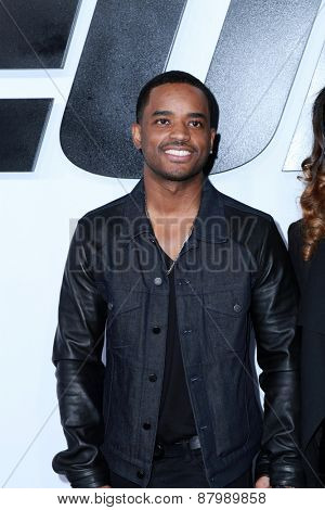 LOS ANGELES - FEB 1:  Larenz Tate at the