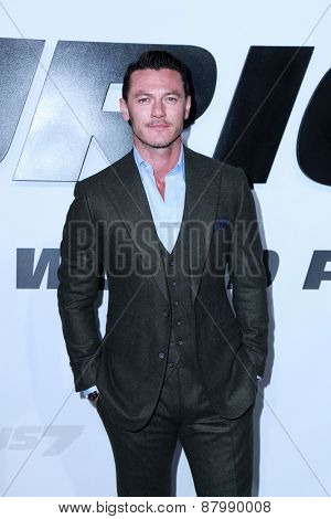 LOS ANGELES - FEB 1:  Luke Evans at the