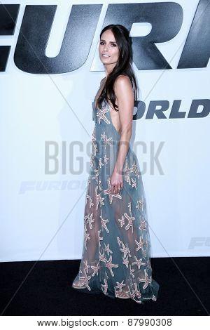 LOS ANGELES - FEB 1:  Jordana Brewster at the