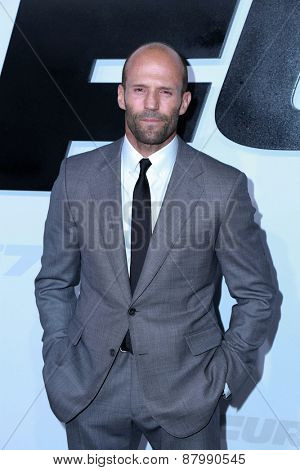 LOS ANGELES - FEB 1:  Jason Statham at the