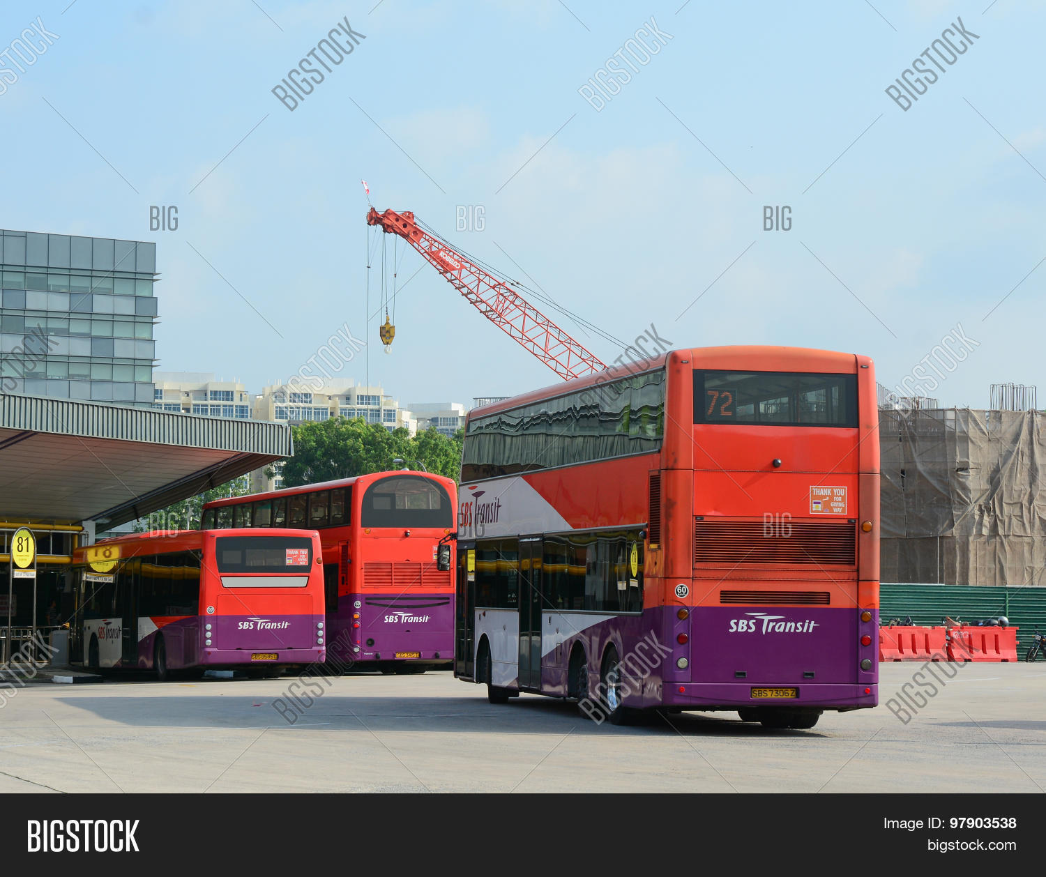 Public Commuter Buses Image & Photo (Free Trial) | Bigstock