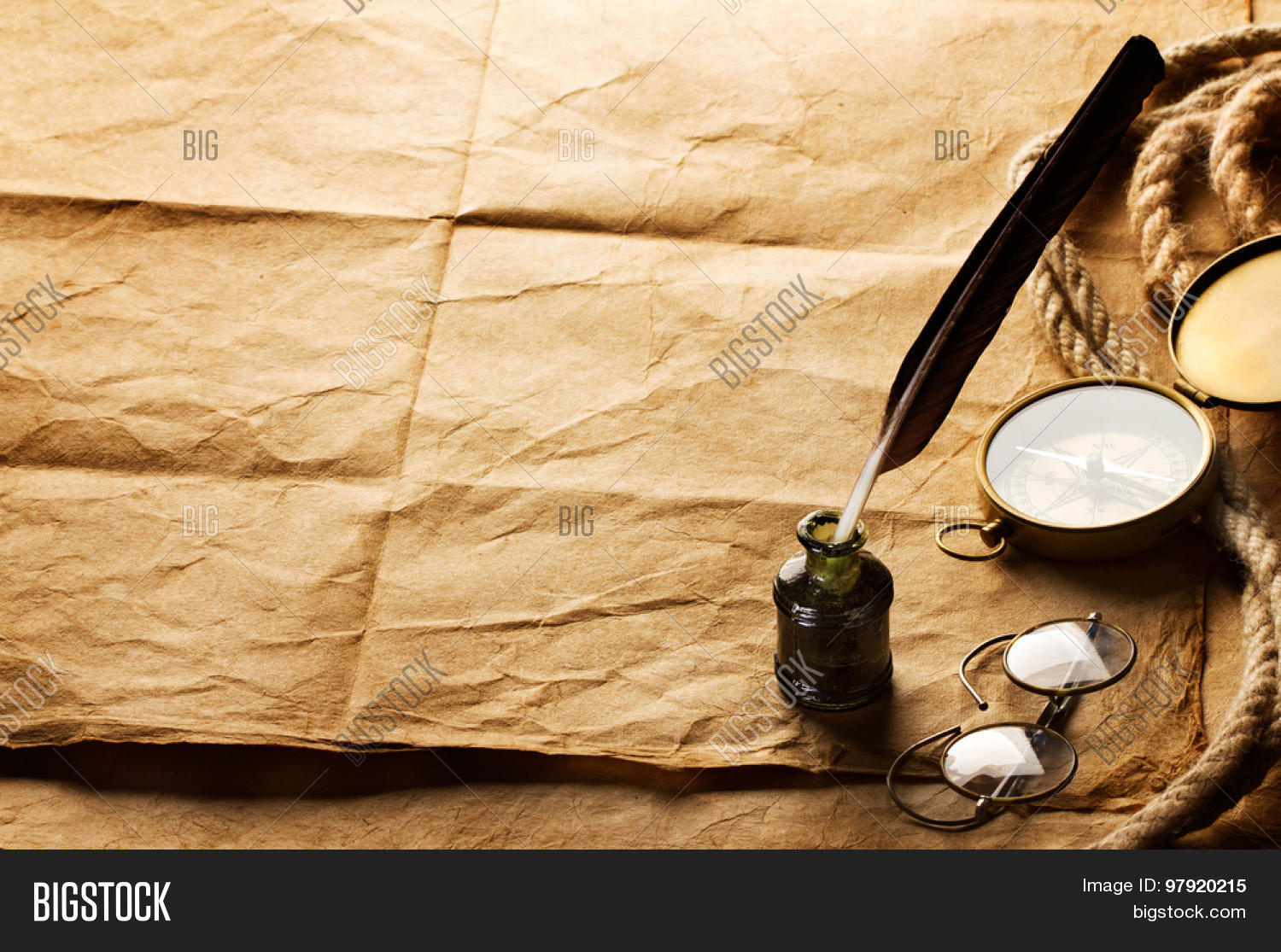 Quill Pen, Inkwell, Image & Photo (Free Trial) | Bigstock