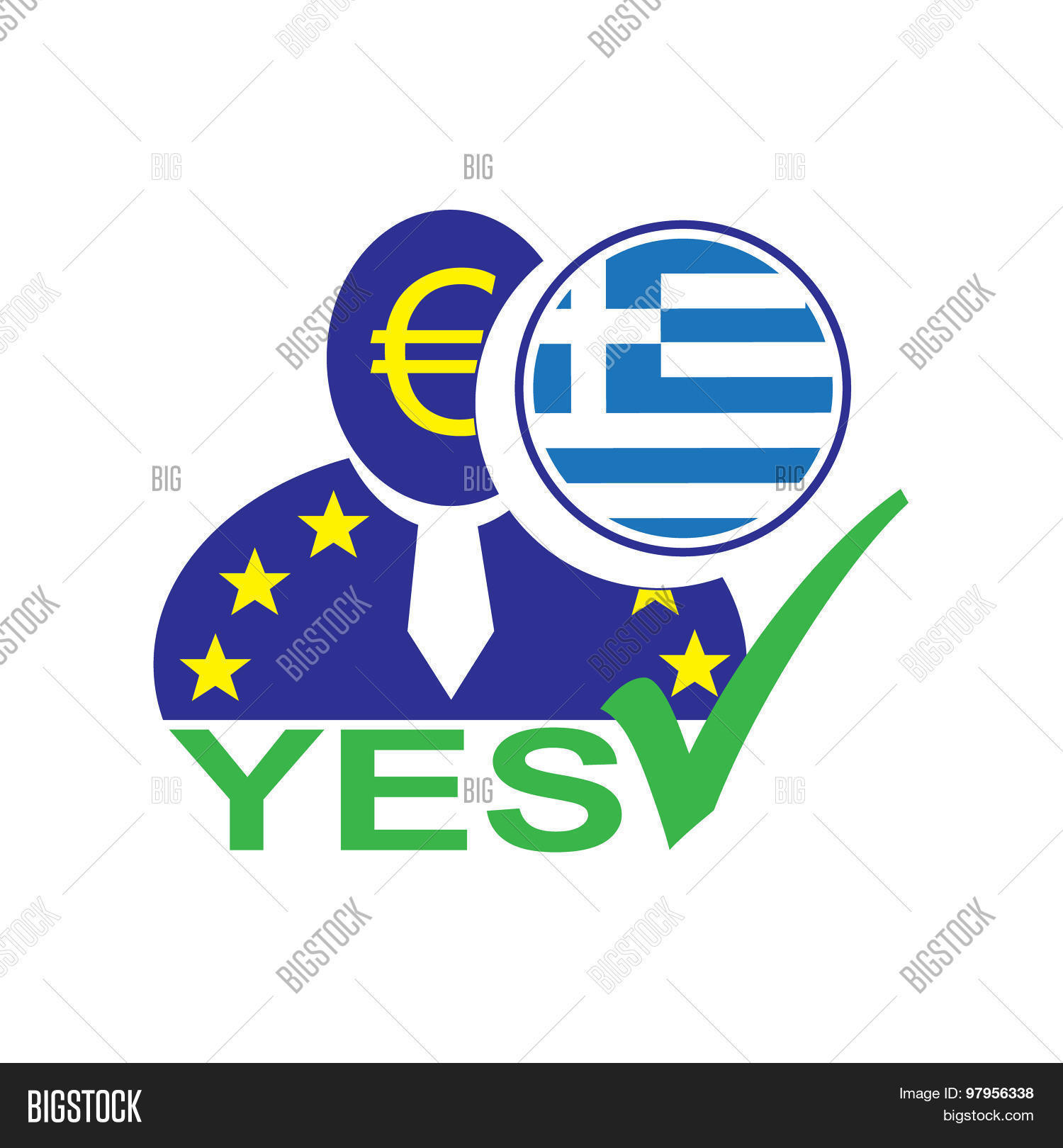 European Union Man Vector Photo Free Trial Bigstock