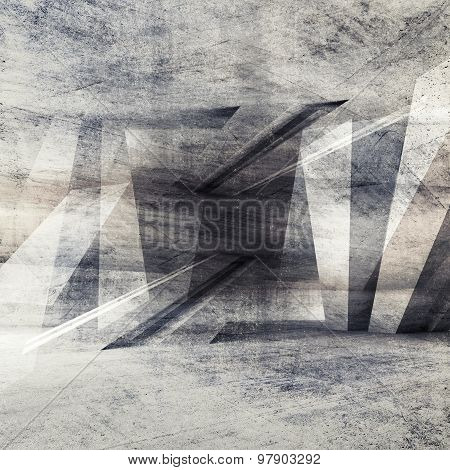 Abstract Grungy Concrete Wall Background