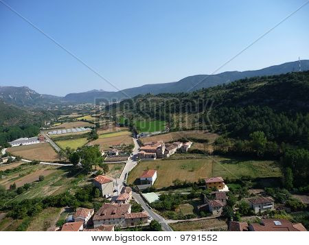 Views from the castle of Frias, Burgos, Spain