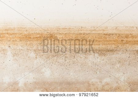 Water Stain Pattern After Flood
