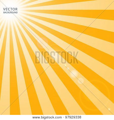 the suns rays send an intense heat Solar radiation, often called the solar resource, is a general term for the electromagnetic radiation emitted by the sunsolar radiation can be captured and turned into useful forms of energy, such as heat and electricity, using a variety of technologies.