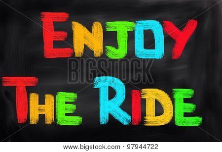 Enjoy The Ride Concept