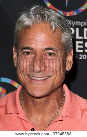 LOS ANGELES - JUL 31: Greg Louganis at the Special Inaugural Dance Challenge at the Wallis Annenberg Center For The Performing Arts on July 31, 2015 in Beverly Hills, CA