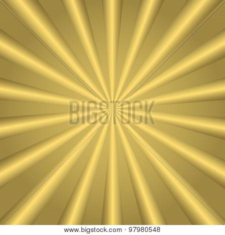 Golden striped background