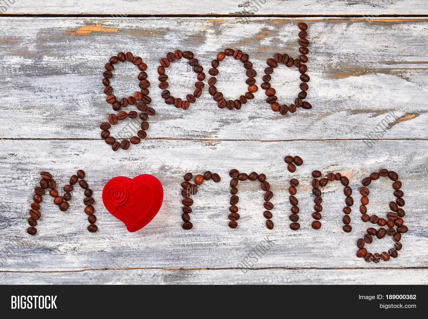 Good Morning Heart Image Photo Free Trial Bigstock