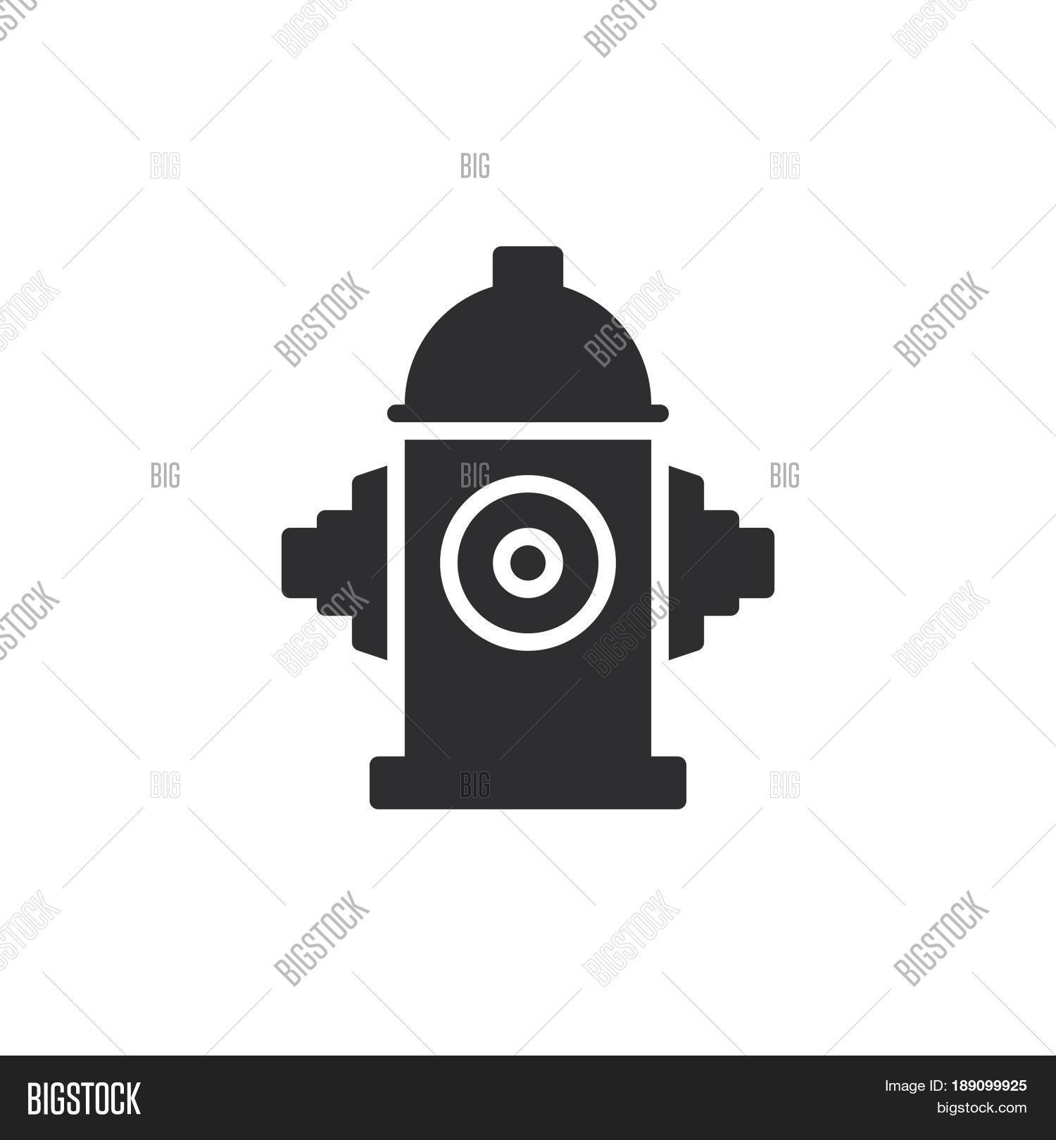 Fire Hydrant Icon Vector Photo Free Trial Bigstock
