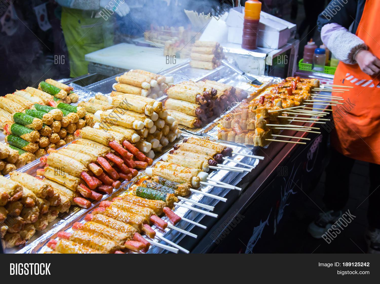 Korean Street Food Image Photo Free Trial Bigstock