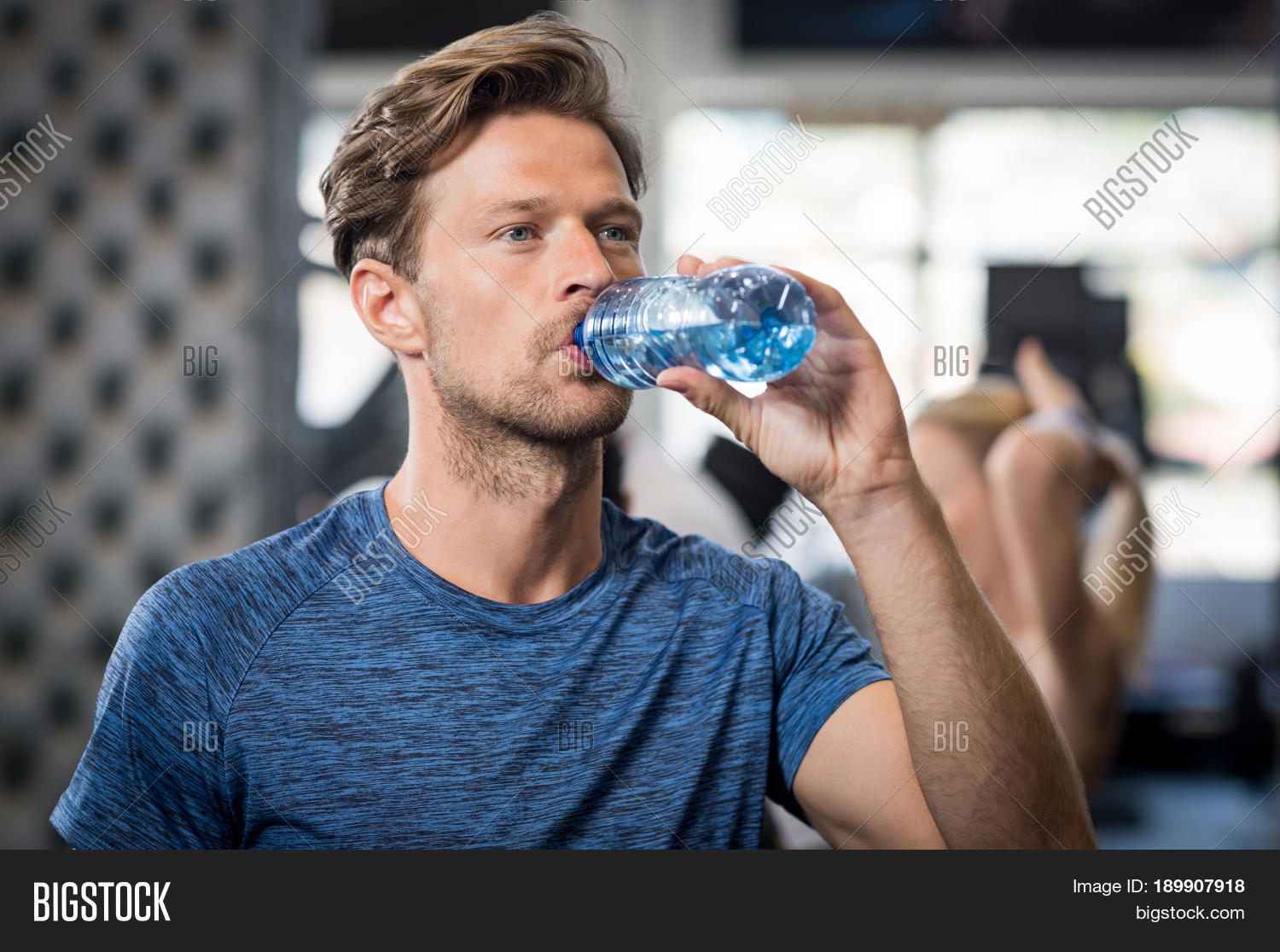 Young Man Drinking Image Photo Free Trial Bigstock