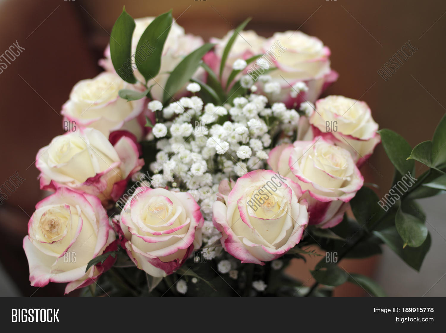 Beautiful Bouquet White Roses Small Image Photo Bigstock