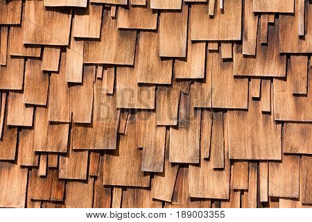 Western Red Cedar Shingles Unregular Pattern