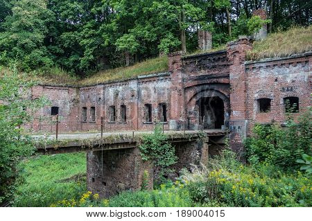 Abandoned Prussian fort