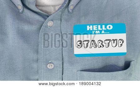 Startup Instructions Diagram New Business Start-Up Plan 3d Illustration