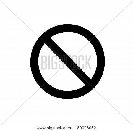 Signs prohibiting black isolated on white background with clipping path.