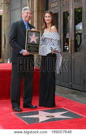 LOS ANGELES - MAY 30:  Leron Gubler, Keri Russell at the Keri Russell Honored With a Star Ceremony on the Hollywood Walk of Fame on May 30, 2017 in Los Angeles, CA