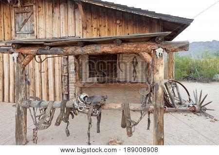 Barn Cowboy Stable Wild West Frontier Arizona Us